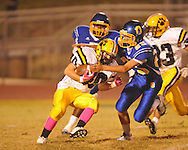 Oxford High's Chadwick Lamar (25) vs. Hernando in Oxford, Miss. on Friday, October 14, 2011. Hernando won 31-30 in overtime.