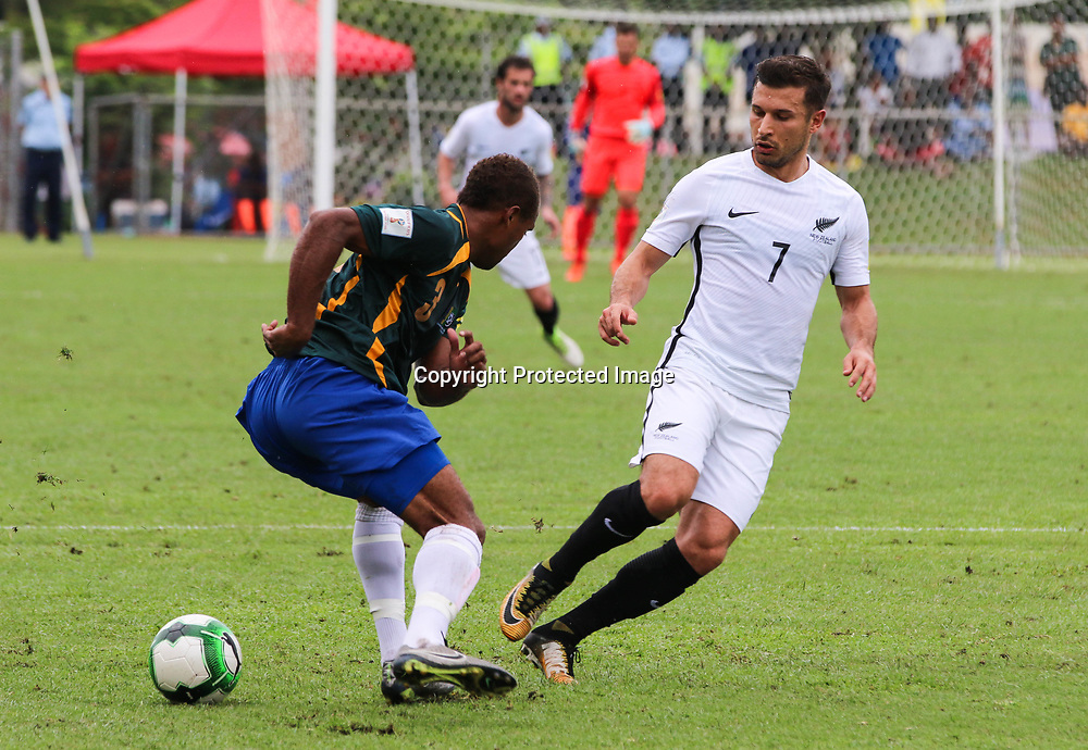 Kosta Barbarouses.<br /> Fifa World Cup Qualifier, Solomon Islands v New Zealand All Whites, Lawson Tama Stadium, Honiara, Solomon Islands, 5 September 2017. Photo: OFC Media / www.photosport.nz