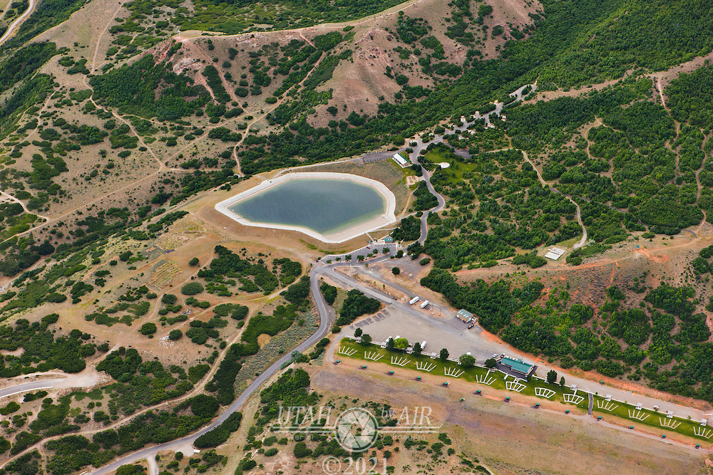 Spanish Fork Reservoir, Campground and Shooting Range