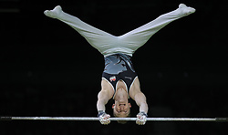 England's Nile Wilson on the Horizontal Bar on his way to winning a gold medal in the Men's Individual All-Round Final at the Coomera Indoor Sports Centre during day three of the 2018 Commonwealth Games in the Gold Coast, Australia.