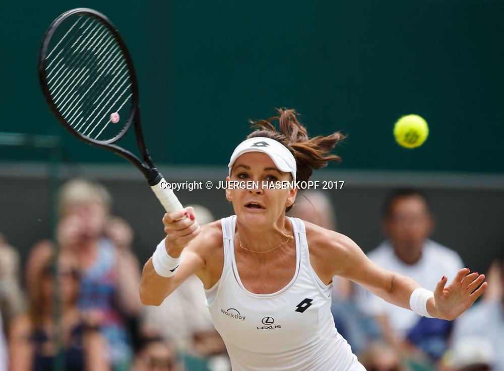 AGNIESZKA RADWANSKA (POL)<br /> <br /> Tennis - Wimbledon 2017 - Grand Slam ITF / ATP / WTA -  AELTC - London -  - Great Britain  - 8 July 2017.