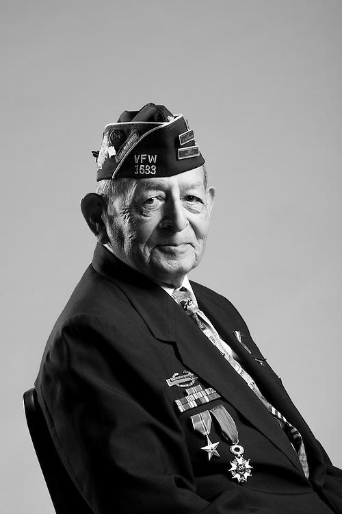 Tomas Jimenez<br /> Army Air Corps<br /> E-3<br /> 605 Machine Gunner<br /> Mar. 6, 1944 - June 26, 1946<br /> WWII (Europe)<br /> <br /> <br /> Veterans Portrait Project<br /> San Antonio, TX