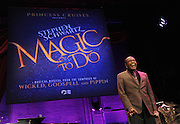 "Entertainer Ben Vereen performs ""Magic to Do"" from Pippin during an event announcing Broadway composer Stephen Schwartz's partnership with Princess Cruises, Thursday, March 12, 2015, at Millennium Broadway's Hudson Theatre in New York. (Photo by Diane Bondareff/Invision for Princess Cruises/AP Images)"