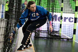 Renikova of Czech Republic during handball match between Women National Teams of Slovenia and Czech Republic of 4th Round of EURO 2012 Qualifications, on March 25, 2012, in Arena Stozice, Ljubljana, Slovenia. (Photo by Urban Urbanc / Sportida.com)