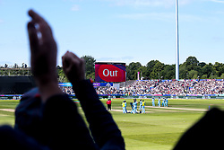 The crowd react to Kane Williamson of New Zealand being given out - Mandatory by-line: Robbie Stephenson/JMP - 03/07/2019 - CRICKET - Emirates Riverside - Chester-le-Street, England - England v New Zealand - ICC Cricket World Cup 2019 - Group Stage