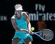 ELISE MERTENS (BEL)<br /> <br /> Tennis - Australian Open 2018 - Grand Slam / ATP / WTA -  Melbourne  Park - Melbourne - Victoria - Australia  - 23 January 2018.