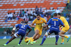 Jaguares captain Agustin Creevy during the Super Rugby match between DHL Stormers and Jaguares held at DHL Newlands in Cape Town, South Africa on the 4th March 2017.<br /> <br /> Photo by Ron Gaunt/Villar Press