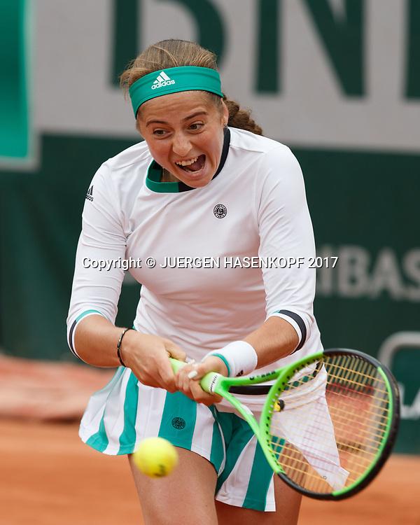 JELENA OSTAPENKO (LAT)<br /> <br /> Tennis - French Open 2017 - Grand Slam / ATP / WTA / ITF -  Roland Garros - Paris -  - France  - 6 June 2017.