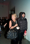 Amanda Eliasch; Edouard Desforges, TODÕS Art Plus Drama Party 2011. Whitechapel GalleryÕs annual fundraising party in partnership  with TODÕS and supported by HarperÕs Bazaar. Whitechapel Gallery. London. 24 March 2011. -DO NOT ARCHIVE-© Copyright Photograph by Dafydd Jones. 248 Clapham Rd. London SW9 0PZ. Tel 0207 820 0771. www.dafjones.com.<br /> Amanda Eliasch; Edouard Desforges, TOD'S Art Plus Drama Party 2011. Whitechapel Gallery's annual fundraising party in partnership  with TOD'S and supported by Harper's Bazaar. Whitechapel Gallery. London. 24 March 2011. -DO NOT ARCHIVE-© Copyright Photograph by Dafydd Jones. 248 Clapham Rd. London SW9 0PZ. Tel 0207 820 0771. www.dafjones.com.