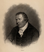 William Smellie (1740-1795) Scottish printer, naturalist and antiquary. He completed the first English translation of Buffon's 'Natural History' (1780).  From 'The Naturalist's Library' edited by William Jardine (Edinburgh and London 1839-1854). Engraving