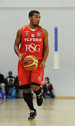 Bristol Flyers' Dwayne Lautier-Ogunleye - Photo mandatory by-line: Dougie Allward/JMP - Mobile: 07966 386802 - 28/03/2015 - SPORT - Basketball - Bristol - SGS Wise Campus - Bristol Flyers v London Lions - British Basketball League