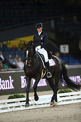 Brune Bernadette, (GER), Spirit Of The Age Old<br /> Grand Prix Dressage<br /> Stuttgart - German Masters 2015<br /> © Hippo Foto - Stefan Lafrentz