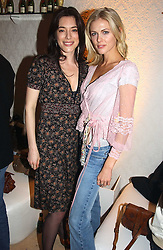Left to right, JAMIE MURRAY and DONNA AIR at a party to celebrate the opeing of the new Paul & Joe Boutique at 134 Sloane Street, London SW1 on 14th April 2005.<br />