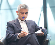 Sadiq Khan, Mayor launches a search for the first ever London Borough of Culture at a ceremony at City Hall, London, Great Britain <br /> 30th June 2017 <br /> <br /> <br /> <br /> <br /> Sadiq Khan, Mayor London <br /> <br /> <br /> <br /> <br /> <br /> Photograph by Elliott Franks <br /> Image licensed to Elliott Franks Photography Services