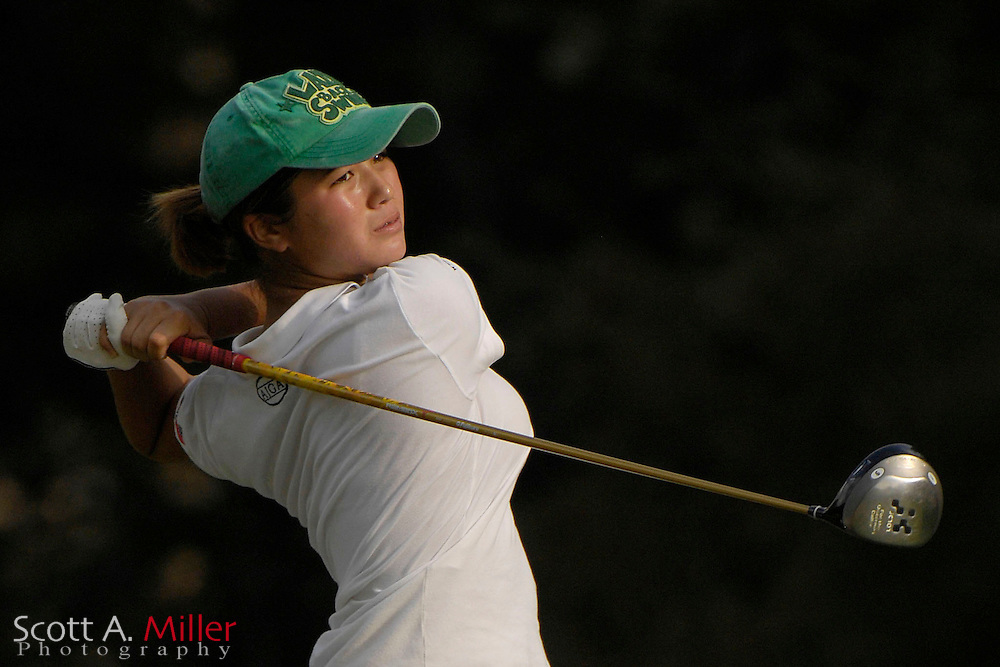 Kimberly Kim during the first round of match play at the U.S. Women's Amateur at Crooked Stick Golf Club on Aug. 8, 2007 in Carmel, Ind.    ...©2007 Scott A. Miller
