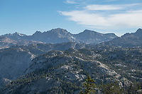 View of Wind River Range from Photographers Point, Bridger Wilderness Wyoming