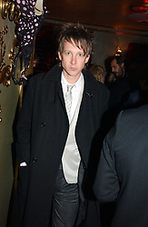 JEFFERSON HACK at a party and fashion show by Agent Provocateur at the Cafe de Paris, Coventry Street, London W1 on 14th February 2005.<br />