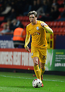 Preston North End defender Adam Reach during the Sky Bet Championship match between Charlton Athletic and Preston North End at The Valley, London, England on 20 October 2015. Photo by David Charbit.