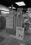 17/2/1966<br /> 2/17/1966<br /> 17 February 1966<br /> <br /> Displays at Rocks Stores Supermarket Talbot St. Dublin