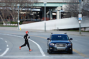 CINCINNATI, OH - DECEMBER 17: Cincinnati Bengals defensive back Leon Hall #29 makes his way back to Paul Brown Stadium following a workout on the practice fields on December 17, 2015 in Cincinnati, Ohio. (Photo by Joe Robbins)