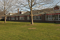 Hanover Elementary School - Kindergarten Addition.James R Anderson Photographer | photog.com 203-281-0717.Andrade Architects, LLC. Enfield Builders, Inc..Photography Date: 14 December 2011.Camera View: Northeast, area at center of School building..Image Number 24