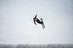 February 18, 2018 - Pyeongchang, Gangwon, South Korea - Andri Ragettli of  Switzerland competing in slope style for men at phoenix park, Pyeongchang,  South Korea on Febuary 18, 2019. (Credit Image: © Ulrik Pedersen/NurPhoto via ZUMA Press)