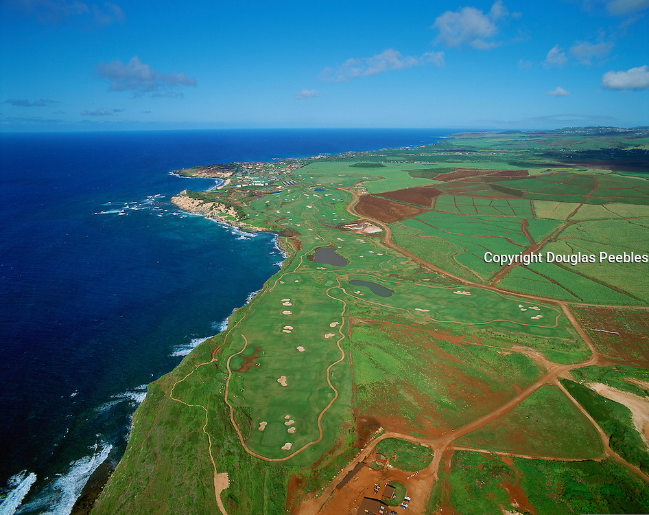 golf, Poipu Bay Resort, Kauai, Hawaii, USA<br />