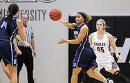 December 6, 2018: The Southwestern Oklahoma State University Bulldogs play against the Oklahoma Christian University Lady Eagles in the Eagles Nest on the campus of Oklahoma Christian University.