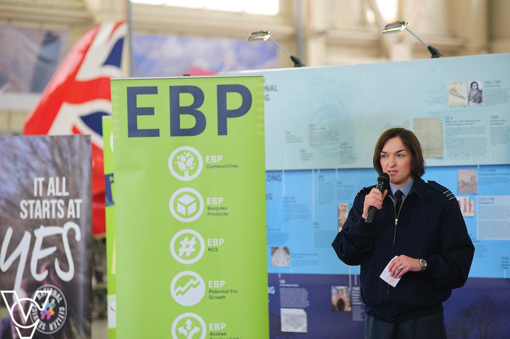 EBP/RAF Scampton Red Stem event 2016.<br /> <br /> RAF Scampton station commander Wing Commander Joanne Campbell<br /> <br /> Picture: Chris Vaughan/Chris Vaughan Photography<br /> Date: June 13, 2016