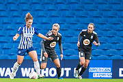 Felicity Gibbons (Brighton & Hove) during the FA Women's Super League match between Brighton and Hove Albion Women and Birmingham City Women at the American Express Community Stadium, Brighton and Hove, England on 17 November 2019.