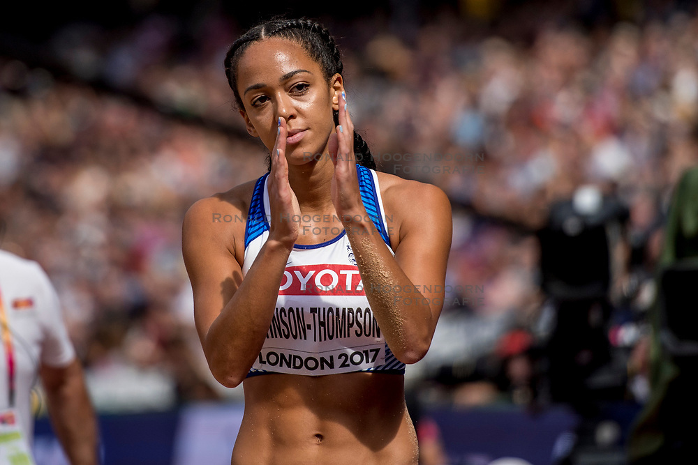 06-08-2017 IAAF World Championships Athletics day 3, London<br /> Katarina Johnson-Thompson GBR