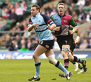 2006, Powergen National Trophy, Blues, Ali Hepher. Twickenham, NEC Harlequins vs Bedford Blues, ENGLAND, 09.04.2006, 2006, , © Peter Spurrier/Intersport-images.com.   [Mandatory Credit, Peter Spurier/ Intersport Images].