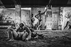 Wrestlers of Hanuman