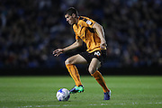 Wolverhampton Wanderers midfielder Conor Coady (16) during the EFL Sky Bet Championship match between Brighton and Hove Albion and Wolverhampton Wanderers at the American Express Community Stadium, Brighton and Hove, England on 18 October 2016.