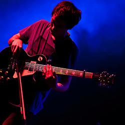 London, Uk - 14 September 2012: Igor Haefeli (guitar) of the band 'Daughter' performs live at the HMV Hammersmith Apollo.