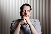 Josh Powell.  Josh's wife Susan disappeared from their home in Dec 2009.  Photographed at home of Steve Powell (Josh's father) near Tacoma WA for People Magazine. Josh Powell.  Josh's wife Susan Powell disappeared from their Utah home in Dec 2009.  Photographed at home of Steve Powell (Josh's father) near Tacoma WA for People Magazine. On Sunday Feb 5 2012, Josh Powell caused an explosion in his home, killing himself and his two children Charles and Braden.