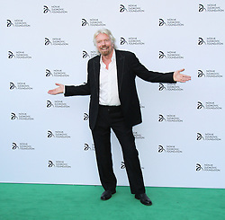© Licensed to London News Pictures. Richard Branson at the Novak Djokovic Foundation London gala dinner, The Roundhouse, London UK, 08 July 2013. Photo credit: Richard Goldschmidt/LNP