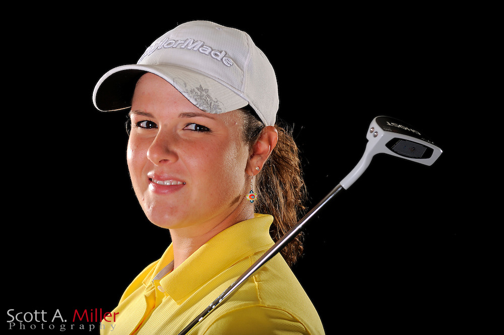 Nikki Hadd during a portrait shoot prior to the LPGA Futures Tour's Daytona Beach Invitational at LPGA International's Championship Courser on March 29, 2011 in Daytona Beach, Florida... ©2011 Scott A. Miller