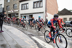 Kathrin Hammes (GER) of WNT Rotor Pro Cycling reaches Houffalize during the Liege-Bastogne-Liege Femmes - a 138.5 km road race, between Bastogne and Liege on April 28, 2019, in Wallonie, Belgium. (Photo by Balint Hamvas/Velofocus.com)