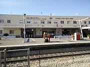 Israel, Haifa, Center-Hashmona Train Station