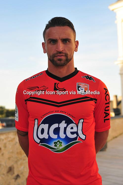 Anthony Gon&ccedil;alves - 28.09.2015 - Photo officielle - Laval - Ligue 2<br /> Photo : Philippe Le Brech / Icon Sport