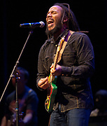 PRICE CHAMBERS / NEWS&GUIDEFive-time Grammy winner Ziggy Marley performs Wednesday night for a sold out show at the Center for the Arts.