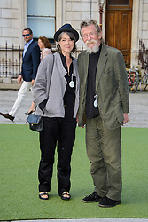 Image ©Licensed to i-Images Picture Agency. 04/06/2014. London, United Kingdom. John Hurt attends the The Royal Academy Of Arts Summer Exhibition. . Picture by Chris Joseph / i-Images