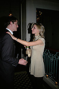 Charlie Beamish and Isabel Coaten, The Essential Party Guide Evening of Golden Glamour. The Ballroom, Mandarin oriental, Hyde Park. 27 March 2007. -DO NOT ARCHIVE-© Copyright Photograph by Dafydd Jones. 248 Clapham Rd. London SW9 0PZ. Tel 0207 820 0771. www.dafjones.com.