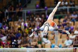 Celina Van Gerner of Netherlands at Balance Beam during Finals of Artistic Gymnastics FIG World Challenge Koper 2018, on June 3, 2017 in Arena Bonifika, Koper, Slovenia. Photo by Matic Klansek Velej/ Sportida