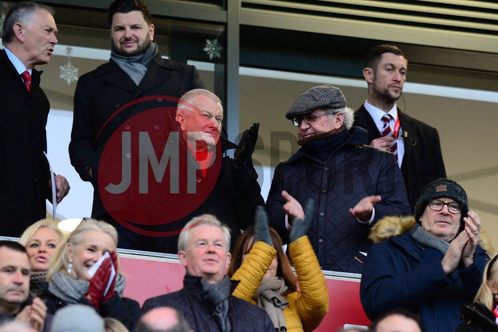 Bristol City majority shareholder Steve Lansdown  - Mandatory by-line: Dougie Allward/JMP - 26/12/2017 - FOOTBALL - Ashton Gate Stadium - Bristol, England - Bristol City v Reading - Sky Bet Championship