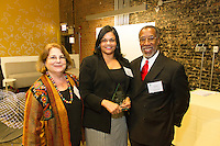 "The Hyde Park Chamber of Commerce held its 76th Annual Dinner and Awards Ceremony Wednesday evening at the Center for Innovation Exchange located at 1452 E. 53rd Street.<br /> <br /> 2038 - Chamber board member, Joyce Feuer of Joyce's Events and Party Planning and Chamber Executive Director, Wallace Goode Paula Jones of the Harper Court Arts Council with an award for Organization of the Year.<br /> <br /> Please 'Like' ""Spencer Bibbs Photography"" on Facebook.<br /> <br /> All rights to this photo are owned by Spencer Bibbs of Spencer Bibbs Photography and may only be used in any way shape or form, whole or in part with written permission by the owner of the photo, Spencer Bibbs.<br /> <br /> For all of your photography needs, please contact Spencer Bibbs at 773-895-4744. I can also be reached in the following ways:<br /> <br /> Website – www.spbdigitalconcepts.photoshelter.com<br /> <br /> Text - Text ""Spencer Bibbs"" to 72727<br /> <br /> Email – spencerbibbsphotography@yahoo.com"