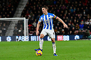Jonathan Hogg (6) of Huddersfield Town during the Premier League match between Bournemouth and Huddersfield Town at the Vitality Stadium, Bournemouth, England on 4 December 2018.