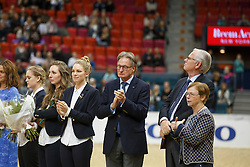 Price giving party with Frank Kemperman<br /> Grand Prix<br /> Reem Acra FEI World Cup Dressage - Goteborg 2016<br /> © Hippo Foto - Dirk Caremans<br /> 25/03/16