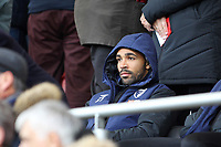 Football - 2018 / 2019 Premier League - AFC Bournemouth vs. Liverpool<br /> <br /> Bournemouth's Callum Wilson sits in the stand before kick off at the Vitality Stadium (Dean Court) Bournemouth <br /> <br /> COLORSPORT/SHAUN BOGGUST
